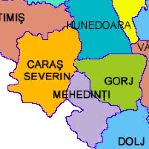 Logo grup al Caras Severin – Gorj – Mehedinti